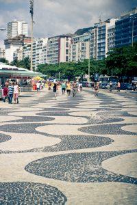 Portuguese Pavement on Copacabana