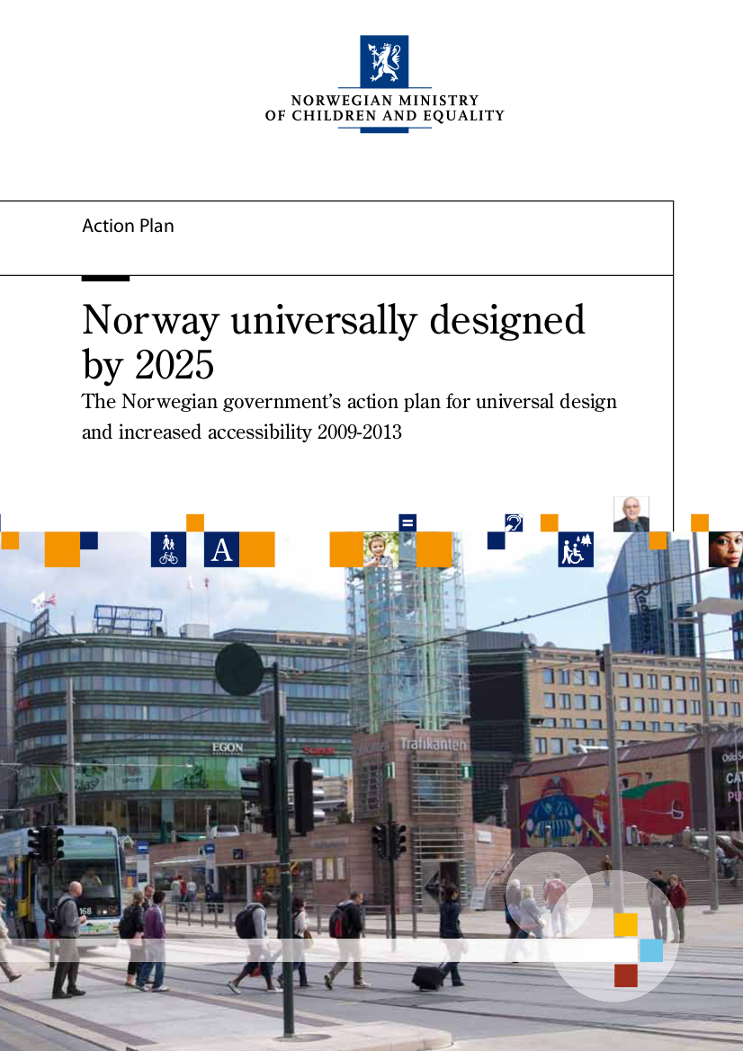Norway universally designed by 2025