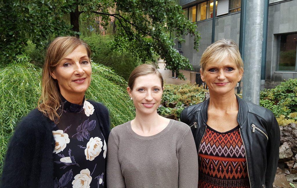 Else Britt Bruset, Siv Linnerud og Anne Lund