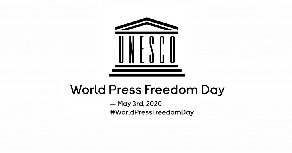 UNESCO world press freedom day logo