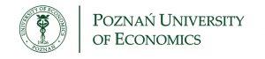 Poznan University of Economics logo