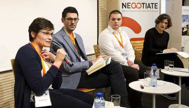 The panel consisting of Tanya Basarab, Thomas Beaujean, Ignacio Doreste, Katarina Sichel