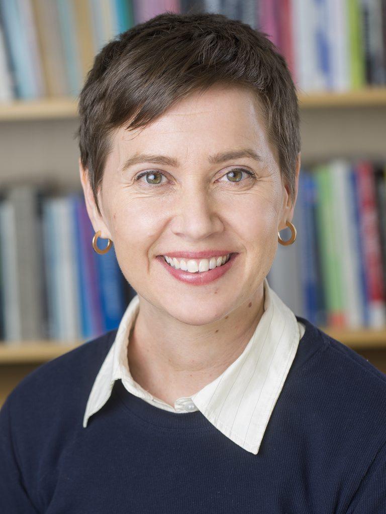Portrett av Ingunn Marie Eriksen.