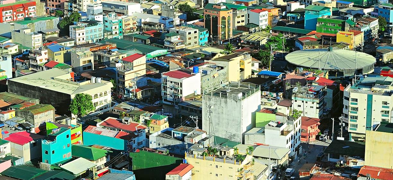 Manila city in the Philippines.