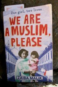 Book cover: We are a Muslim, please